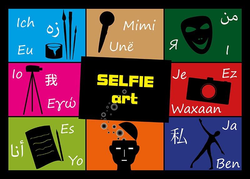 Bild: Flyer 'SELFIE art'