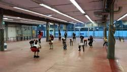 Bild: Tanz in einer Notaufnahme